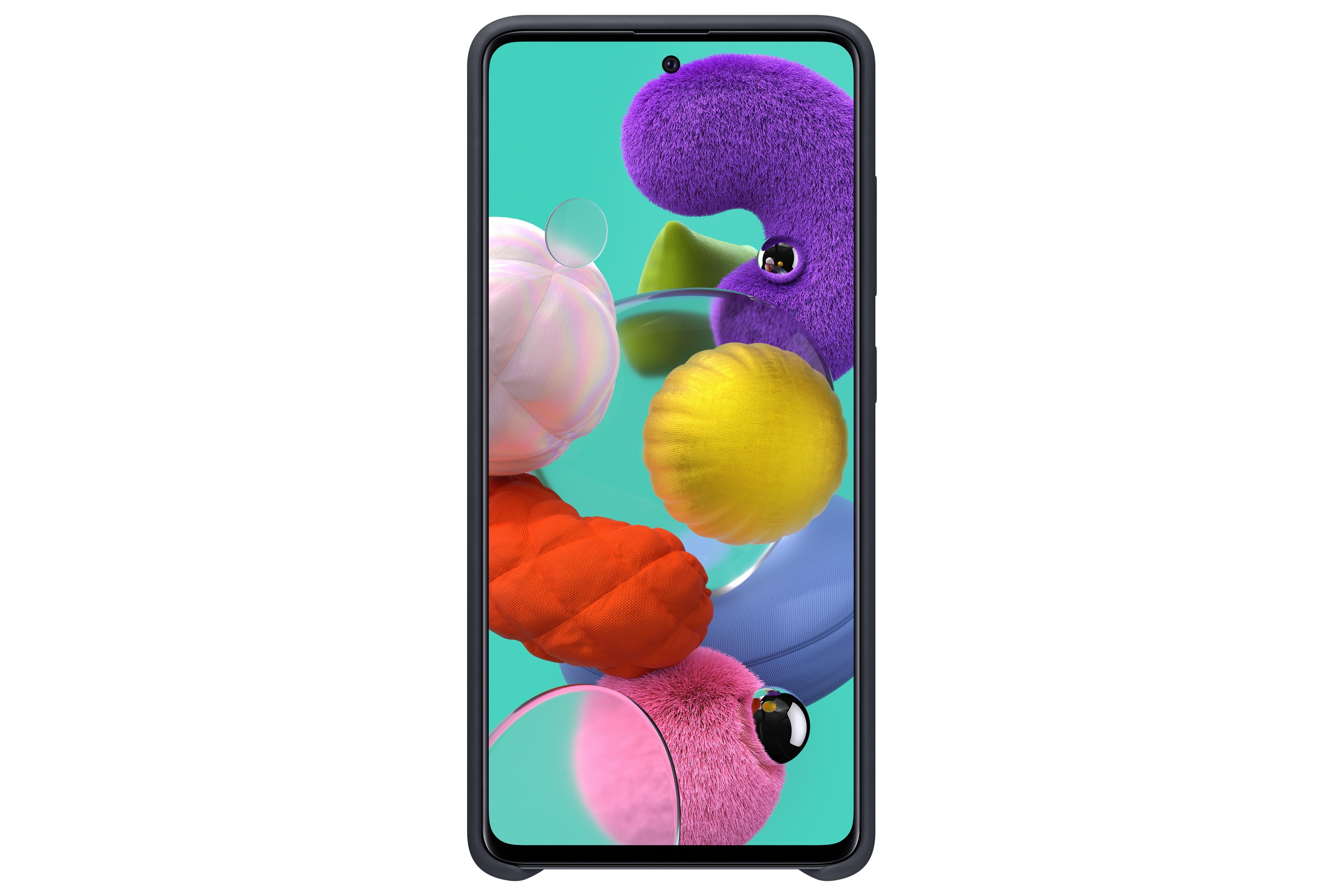Θήκη Samsung Σιλικόνη - Samsung Galaxy A51 Μαύρη