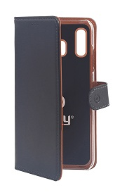 Θήκη Celly Wally - Samsung Galaxy A20 Μαύρη