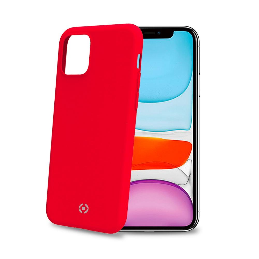 Θήκη Celly Feeling - iPhone 11 Κοκκινη