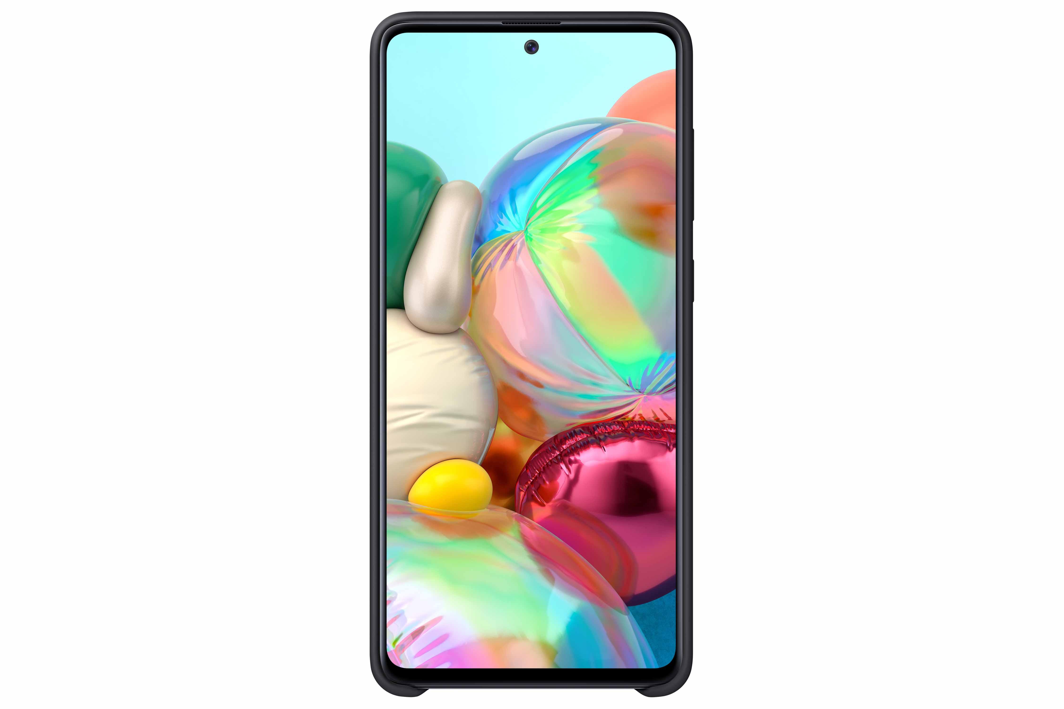 Θήκη Samsung Σιλικόνη - Samsung Galaxy A71 Μαύρη