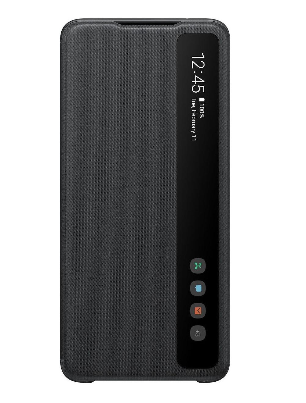 Θήκη Samsung Clear View Wallet - Samsung Galaxy S20 Ultra Μαύρη
