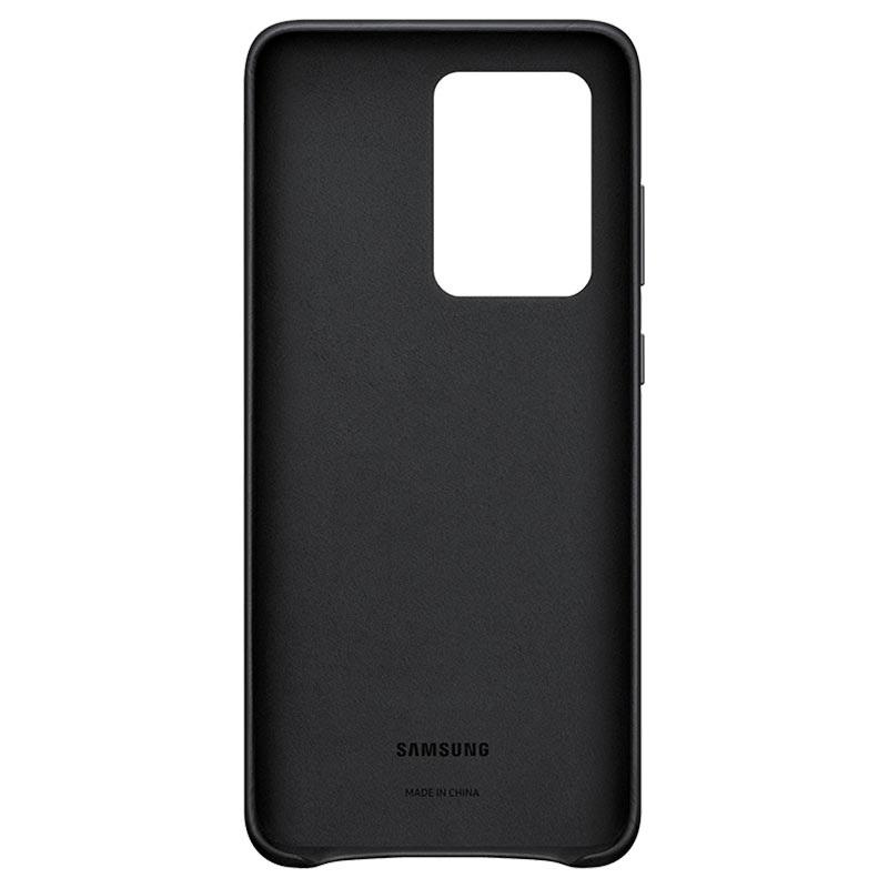 Θήκη Samsung Δερμάτινη - Samsung Galaxy S20 Ultra Μαύρη