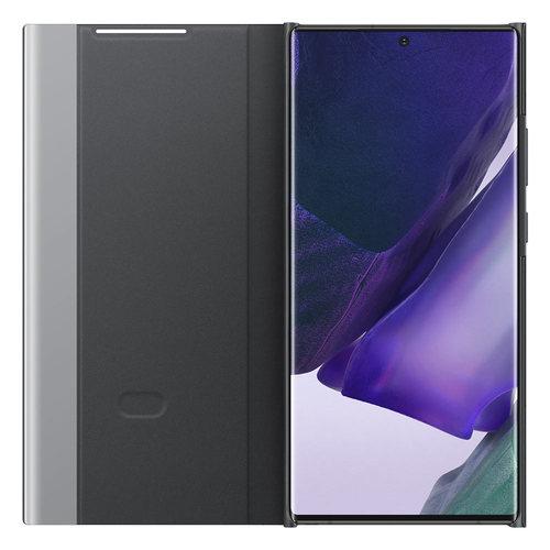 Θήκη Samsung Clear View Cover - Samsung Galaxy Note 20 Ultra Μαύρη