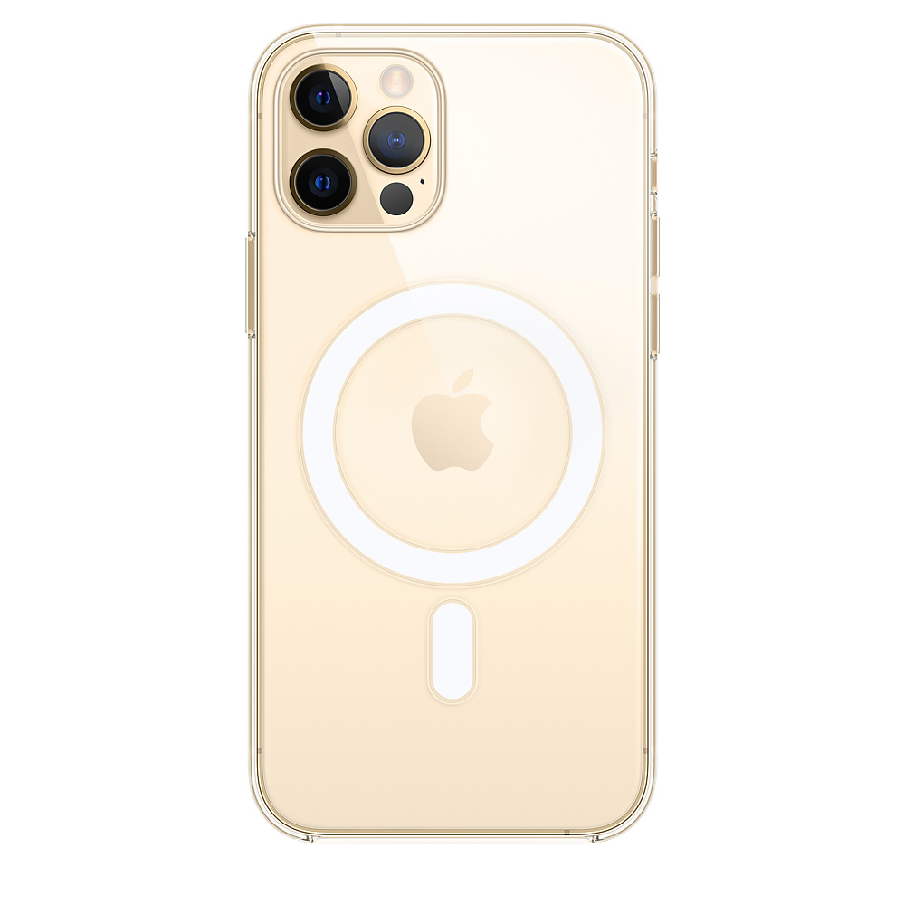 Case Apple Silicone MagSafe - iPhone 12 & 12 Pro Transparent