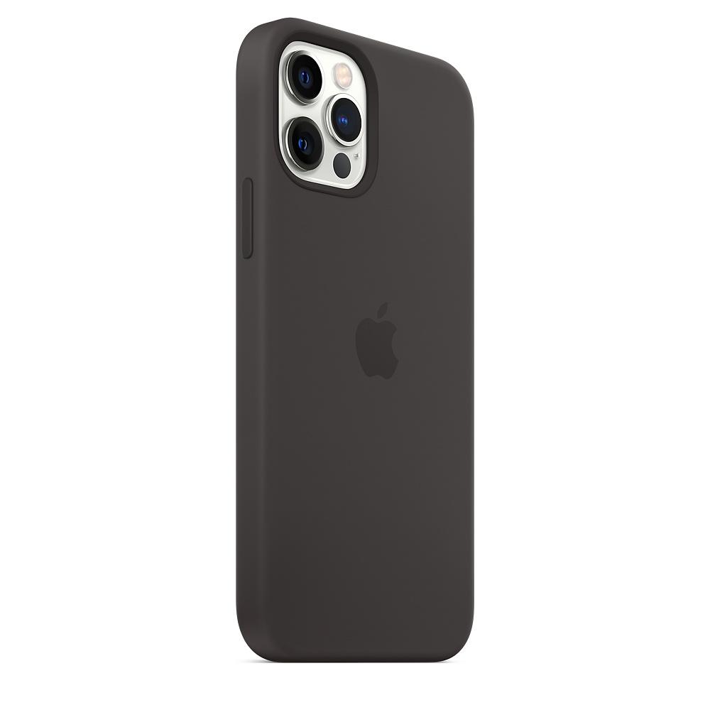 Case Apple Silicone MagSafe - iPhone 12 & 12 Pro Black
