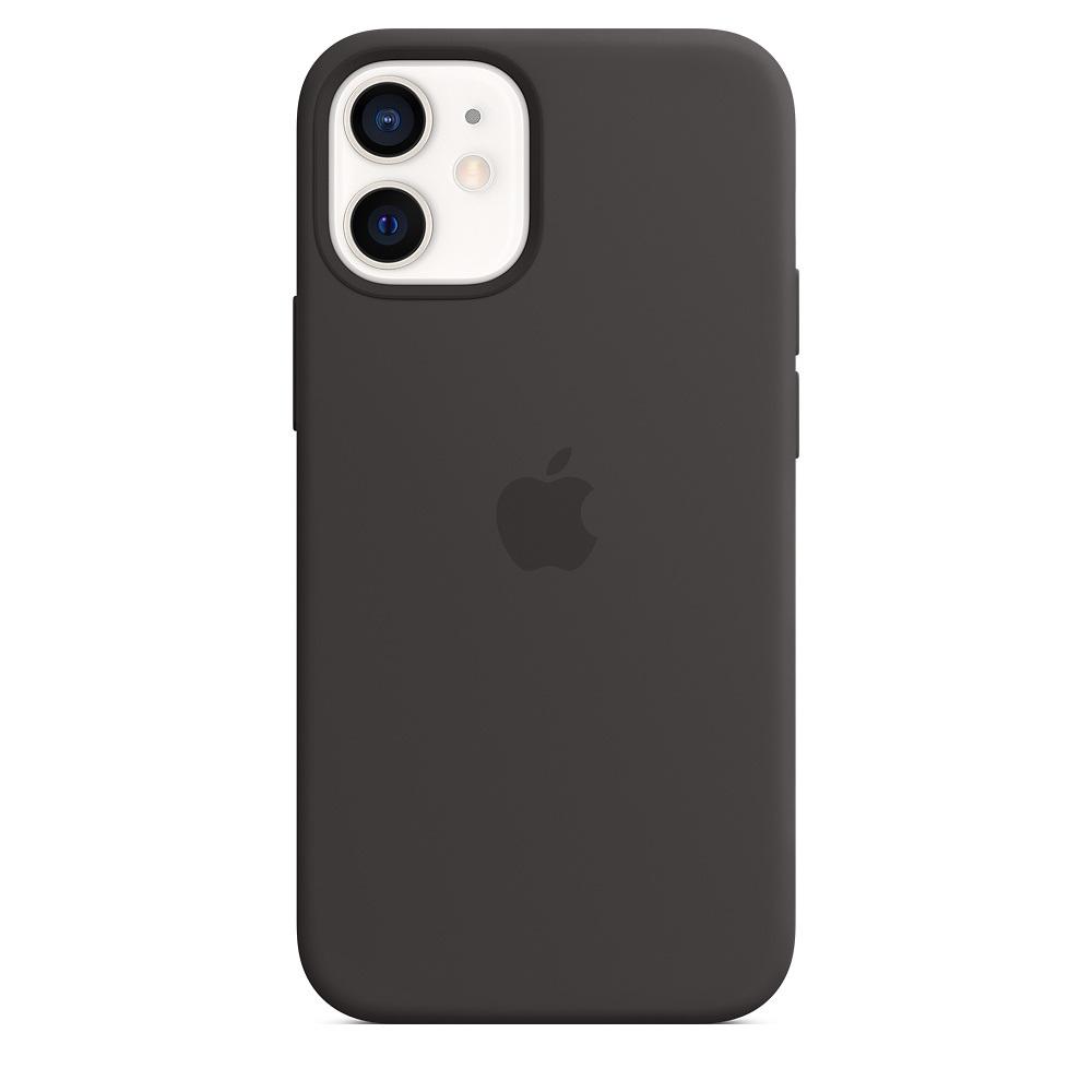 Case Apple Silicone MagSafe - iPhone 12 mini Black