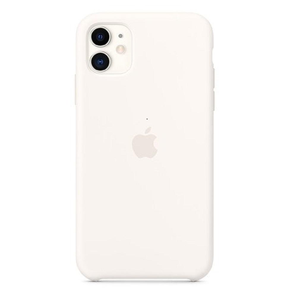 Θήκη Apple Σιλικόνη - iPhone 11 Λευκή
