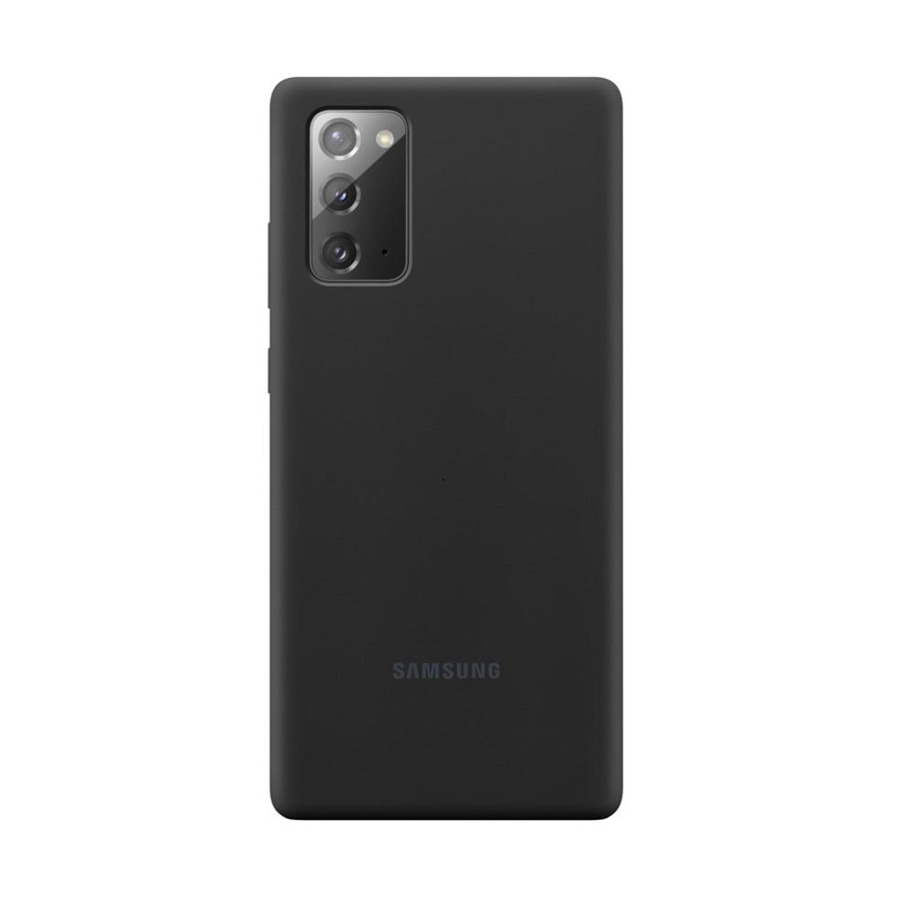 Θήκη Samsung Σιλικόνη - Samsung Galaxy Note 20 Μαύρη