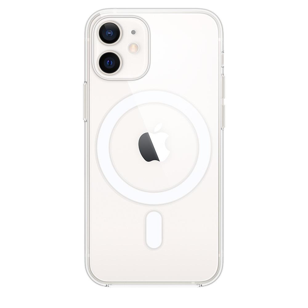 Θήκη Apple Σιλικόνη MagSafe - iPhone 12 mini Διάφανη