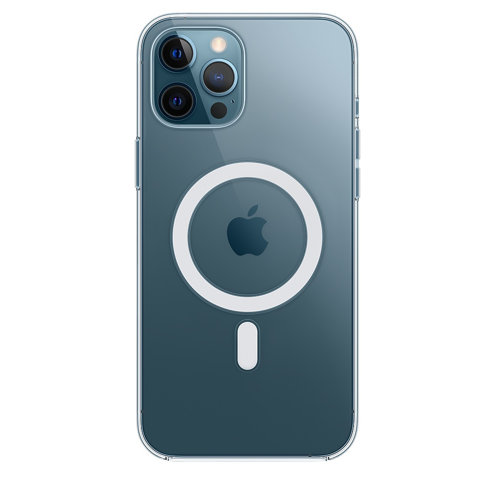 Case Apple Silicone MagSafe - iPhone 12 Pro Max Transparent