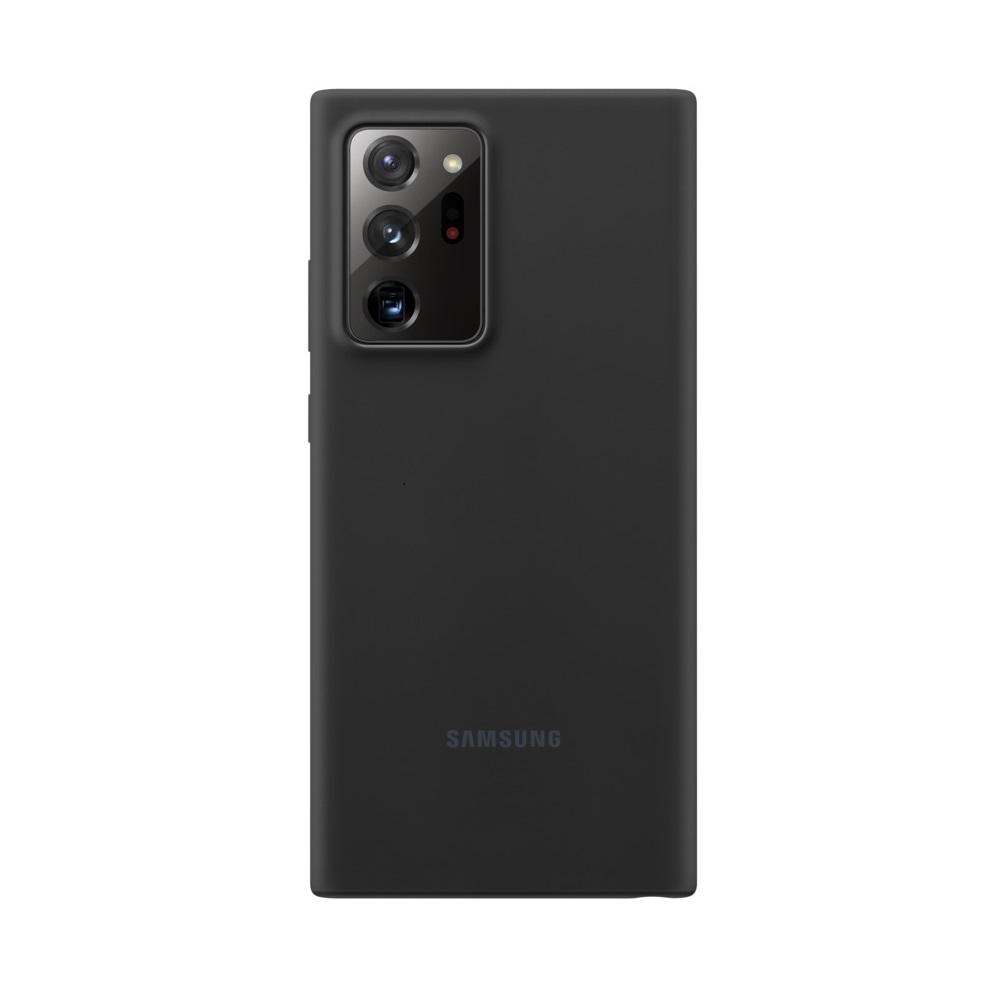 Θήκη Samsung Σιλικόνη - Samsung Galaxy Note 20 Ultra Μαύρη