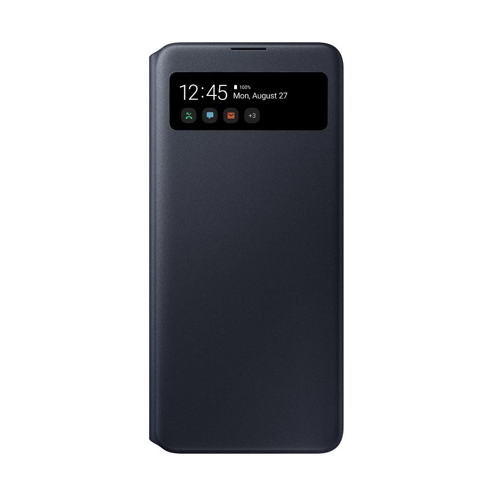 Θήκη Samsung S View Wallet - Samsung Galaxy A71 Μαύρη