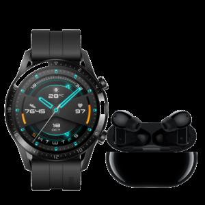 Huawei Watch GT2 46mm  & FreeBuds Pro