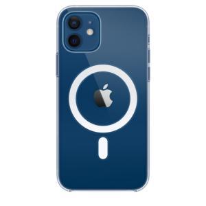 Θήκη Apple Σιλικόνη MagSafe - iPhone 12 & 12 Pro Διάφανη