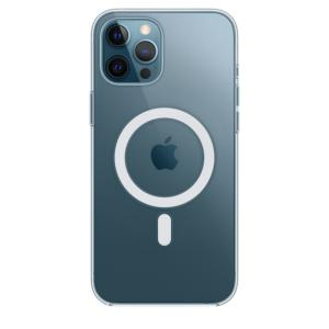Θήκη Apple Σιλικονη MagSafe - iPhone 12 Pro Max Διάφανη