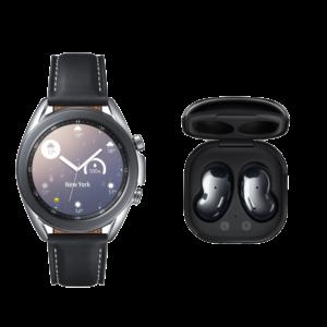 Samsung Galaxy Watch 3 45mm  & Galaxy Buds Live